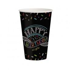 Chalkboard Paper Cups
