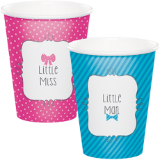 Bow or Bowtie? Paper Cups