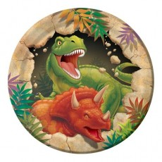 Dinosaur Dino Blast Lunch Plates