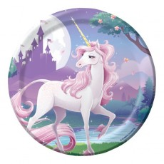 Unicorn Fantasy Lunch Plates