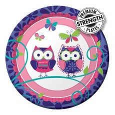 Owl Pal Lunch Plates