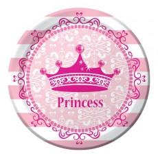 Princess Celebrations Pink Dinner Plates