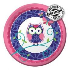 Owl Pal Dinner Plates