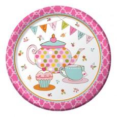 Tea Time Dinner Plates