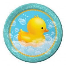 Bubble Bath Dinner Plates