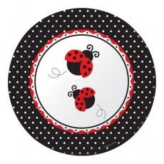 Ladybug Fancy Banquet Plates