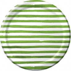 Elise Designs Verdi Green  Banquet Plates