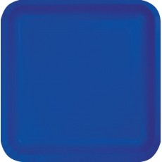 Blue Cobalt Paper Dinner Plates