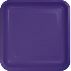 Purple Paper Dinner Plates