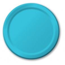 Blue Bermuda Paper Dinner Plates