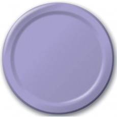 Lavender Party Supplies - Dinner Plates