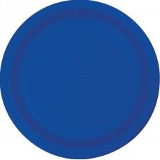 Cobalt Blue Paper Dinner Plates 23cm Pack of 24