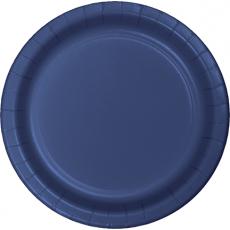 Blue Navy  Banquet Plates