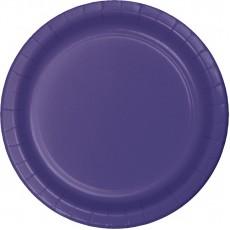 Purple Paper Banquet Plates