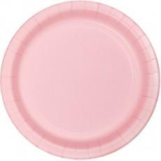 Pink Classic Paper Banquet Plates