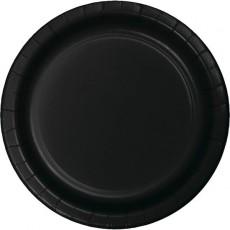 Black Velvet Celebrations Lunch Plates