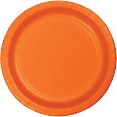 Orange Sunkissed Celebrations Lunch Plates