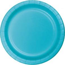 Blue Bermuda Celebrations Paper Lunch Plates