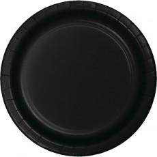 Black Velvet Celebrations Dinner Plates