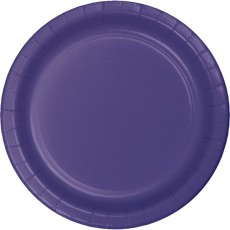 Purple Celebrations Dinner Plates