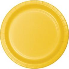 Yellow School Bus Celebrations Paper Dinner Plates