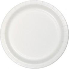 White Celebrations Paper Dinner Plates