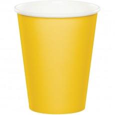 Yellow School Bus  Paper Cups