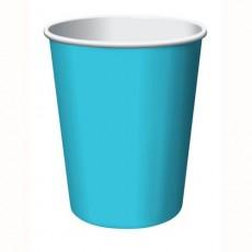 Bermuda Blue Hot & Cold Paper Cups 266ml Pack of 24