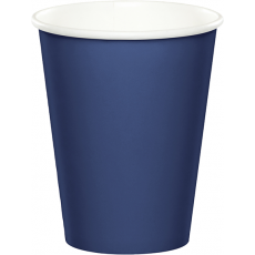 Blue Navy Hot & Cold Paper Cups