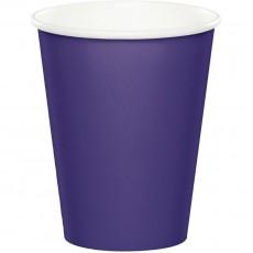 Purple Paper Cups