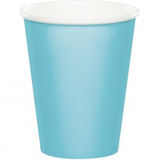 Blue Pastel Hot & Cold Paper Cups