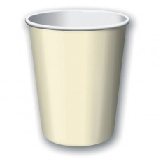 Ivory Party Supplies - Paper Cups