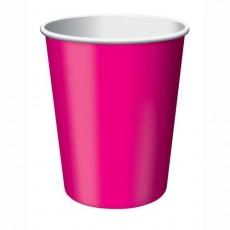 Magenta Hot Paper Paper Cups