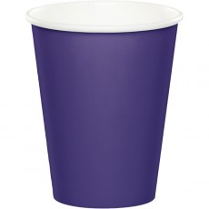 Purple Celebrations Paper Cups