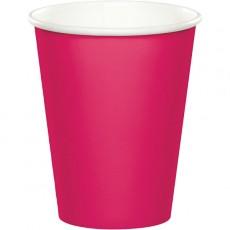 Magenta Hot Celebrations Hot/Cold Paper Cups