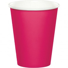 Magenta Hot Celebrations Paper Cups