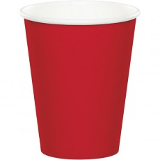 Red Classic Celebrations Hot/Cold Paper Cups