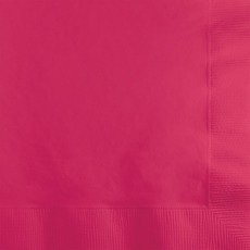 Magenta Hot Celebrations Beverage Napkins