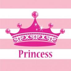 Princess Celebrations Pink Beverage Napkins