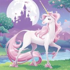 Unicorn Fantasy Beverage Napkins