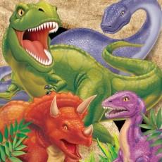 Dinosaur Dino Blast Lunch Napkins Pack of 16