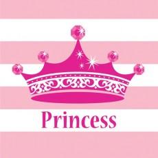 Princess Celebrations Pink Lunch Napkins