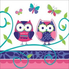 Owl Pal Lunch Napkins