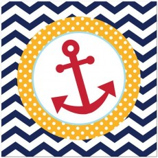 Ahoy Matey Lunch Napkins