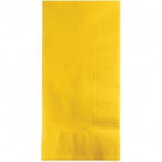 Yellow School Bus  Dinner Napkins