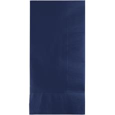 Navy Blue Dinner Napkins 40cm x 40cm Pack of 50