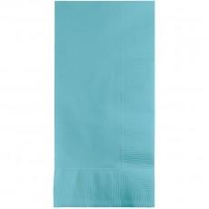 Pastel Blue Dinner Napkins 40cm x 40cm Pack of 50