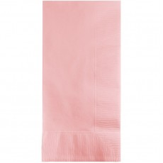 Classic Pink Dinner Napkins 40cm x 40cm Pack of 50