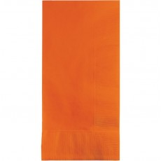 Orange Sunkissed  Dinner Napkins