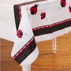 Ladybug Fancy Plastic Table Cover
